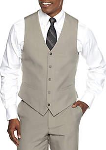 Classic-Fit Look Suit Separate Vest