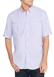 Classic Fit Short Sleeve Fishing Shirt