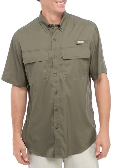 Ocean & Coast® Solid Short Sleeve Fishing Shirt