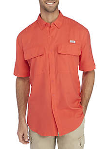 Ocean & Coast® Solid Short Sleeve Fishing Shirt