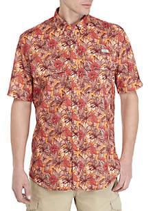 Ocean & Coast® Printed Short Sleeve Fishing Shirt