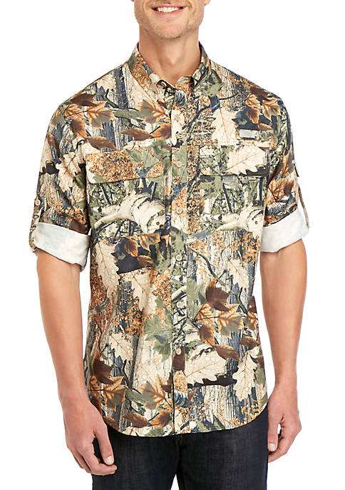 Ocean & Coast® Long Sleeve Camo Fishing Shirt