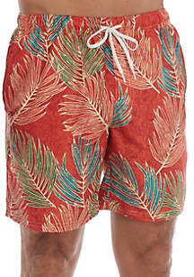 Ocean & Coast® Printed Swim Trunks