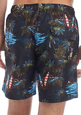 e914d99fa8dca ... Ocean & Coast® Printed Swim Trunks