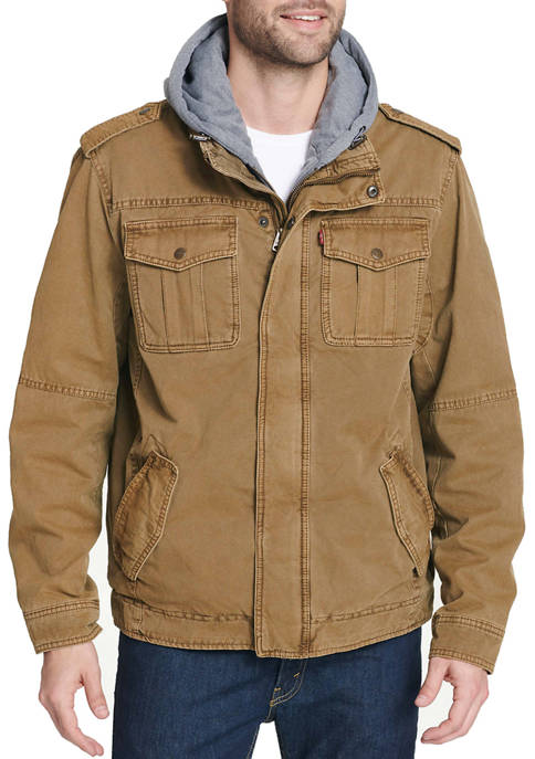 Military Trucker Jacket