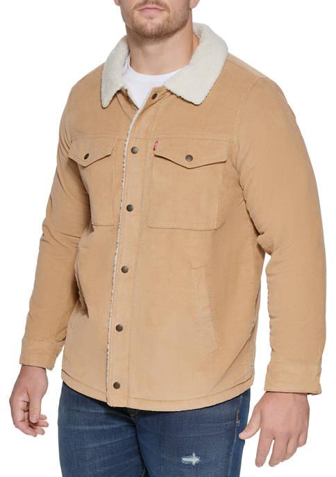 Corduroy Sherpa Trucker Jacket