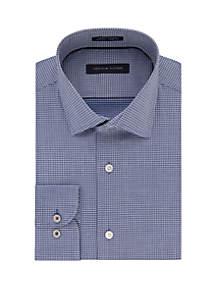 Slim Fit Supima Stretch Spread Collar Dress Shirt
