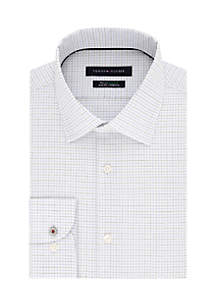 Slim Non-Iron Stretch Spread Dress Shirts