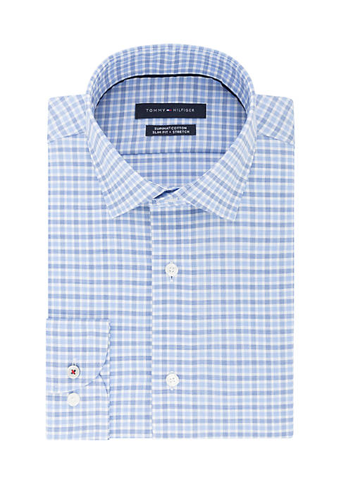Tommy Hilfiger Slim Fit Stretch Dress Shirt