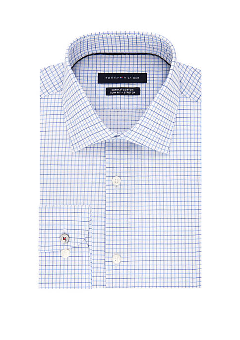 Tommy Hilfiger Slim Supima Stretch Dress Shirt