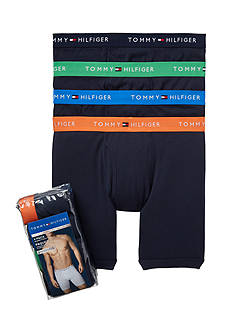 Tommy Hilfiger Cotton Boxer Brief 4-Pack