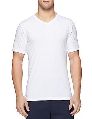 7c87cd780148d6 Tommy Hilfiger Slim Fit V-Neck Tee Shirts 3-Pack   belk