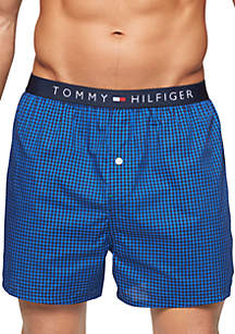 c39496f2393 ... Tommy Hilfiger Woven Check Boxer