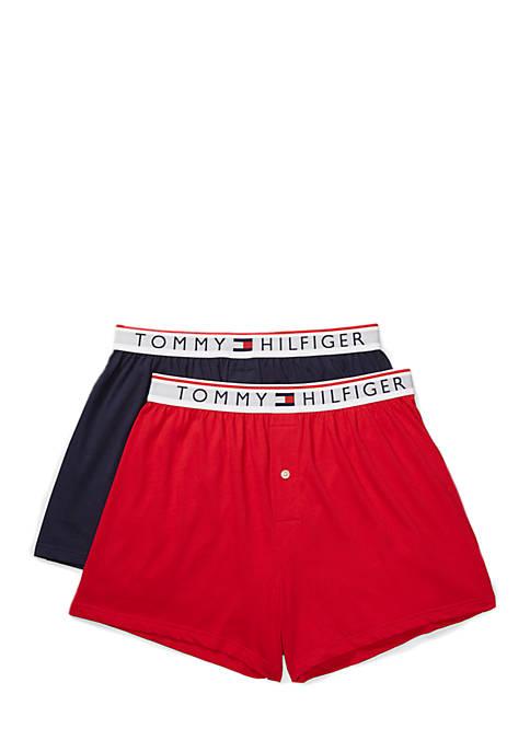 Tommy Hilfiger 2-Pack Modern Essentials Knit Boxers