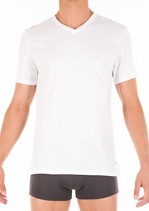 Tommy Hilfiger Cotton Classics V-Neck Tee Shirt 3-Pack