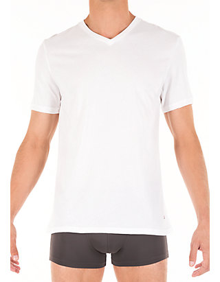99233d5f1a0 Cotton Classics V-Neck Tee Shirt 3-Pack
