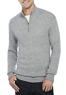 1/4 Zip Donegal Sweater