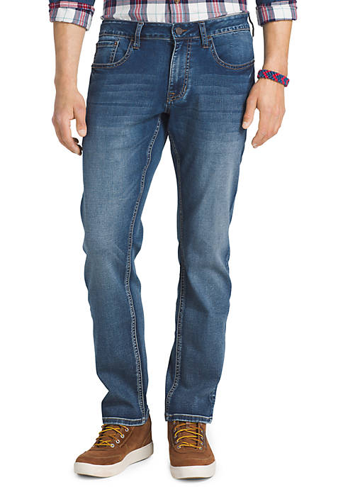 IZOD Ultra Soft Straight Fit Jeans