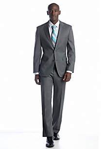 Gray Stripe Suit