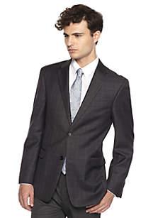 Classic-Fit Suit Jacket Blazer