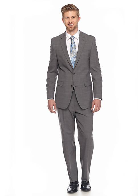 Modern-Fit Stretch 2-Piece Suit