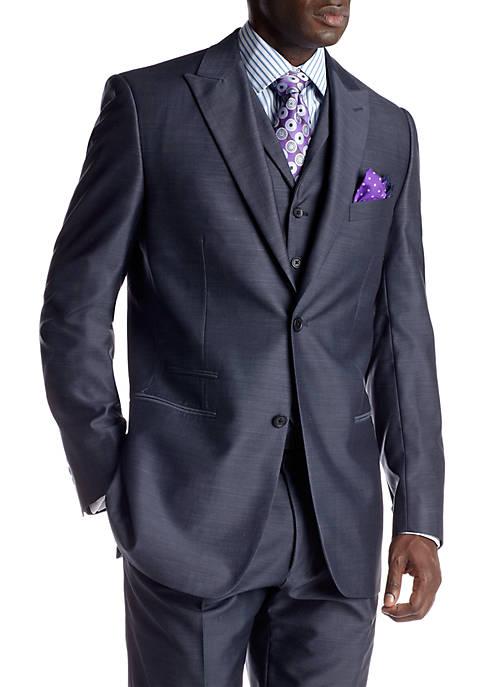 Steve Harvey® Blue Suit Separate Coat