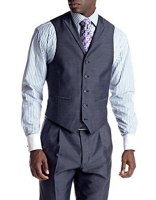 Steve Harvey Mens Solid Regular Fit Suit Separate Jacket