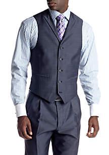 Steve Harvey® Blue Suit Separate Vest