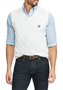 Chaps Cotton V-Neck Sweater