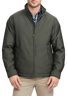 Big & Tall Full Zip Mock Neck Jacket