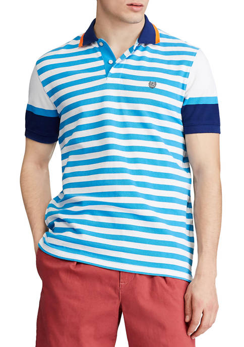 Chaps Classic-Fit Stiped Polo