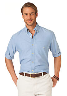 Solid Oxford Woven Shirt