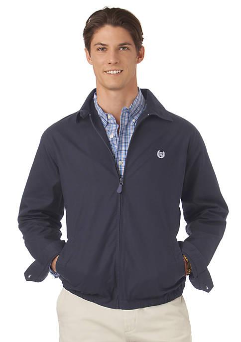 Chaps Twill Full-Zip Jacket