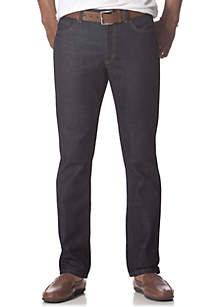 Slim Straight 5-Pocket Jeans