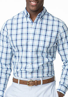 Chaps Checked Poplin Shirt