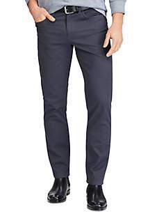 Straight Fit Five Pocket Pants