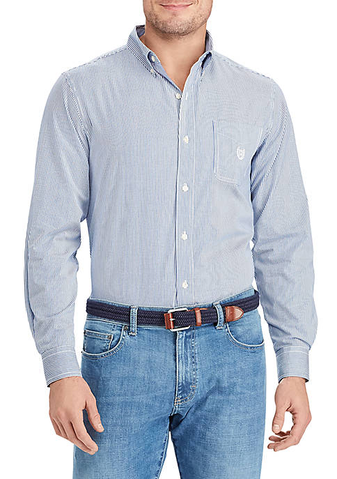 Chaps Long Sleeve Stripe Shirt