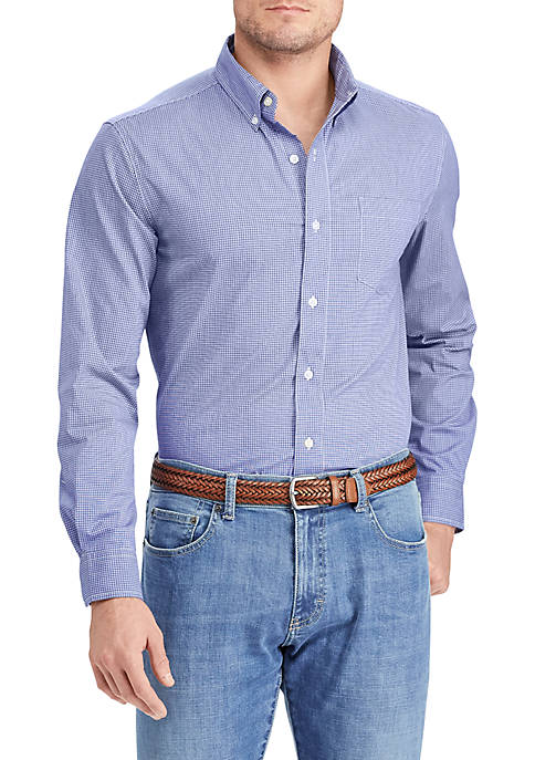 Chaps Long Sleeve Stretch Shirt