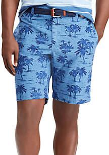 Chambray Bermuda Short
