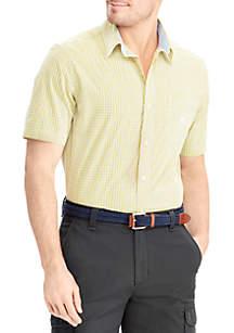 CVC Easy Care Short Sleeve Button Down Shirt