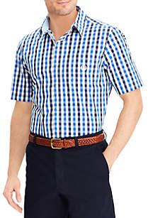 Checked Short-Sleeve Shirt