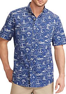 Print Cotton Shirt