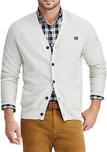 Cotton V-Neck Cardigan