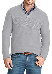Chaps Patterned Cotton Sweater