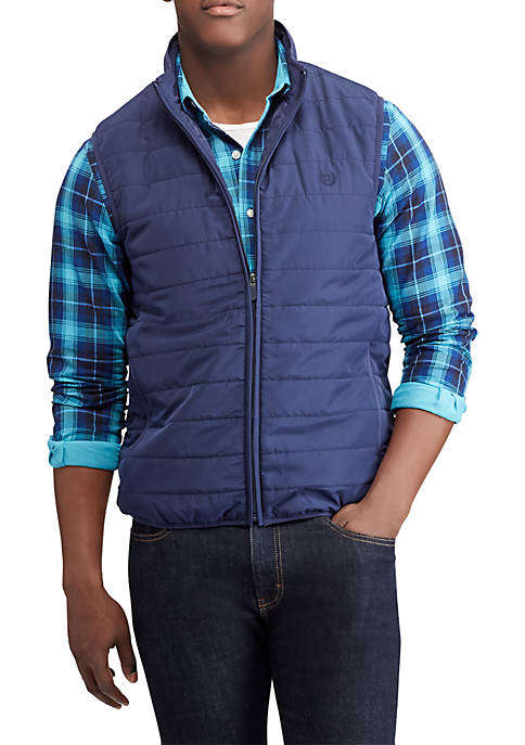 Chaps Packable Quilted Vest