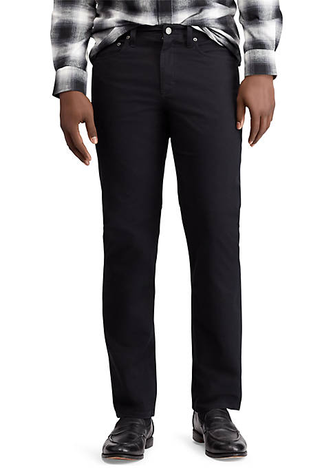 Chaps Straight Stretch Twill Fit 5-Pocket Pants