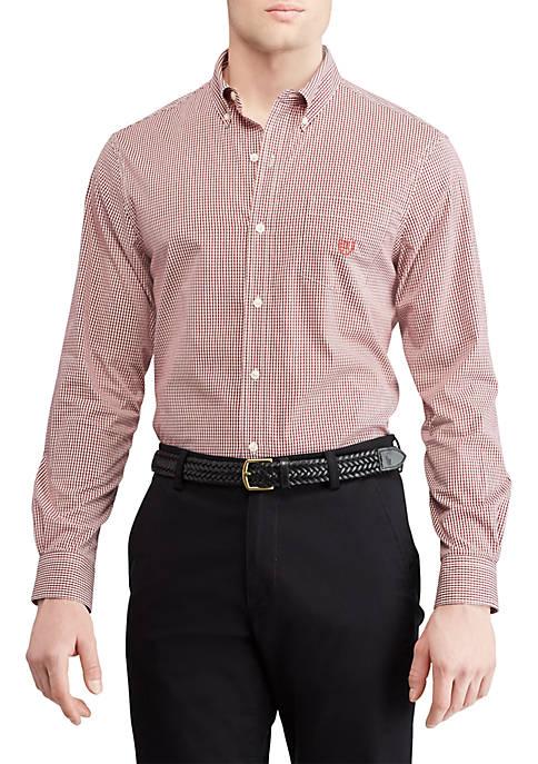 Chaps Cotton-Blend Long Sleeve Shirt