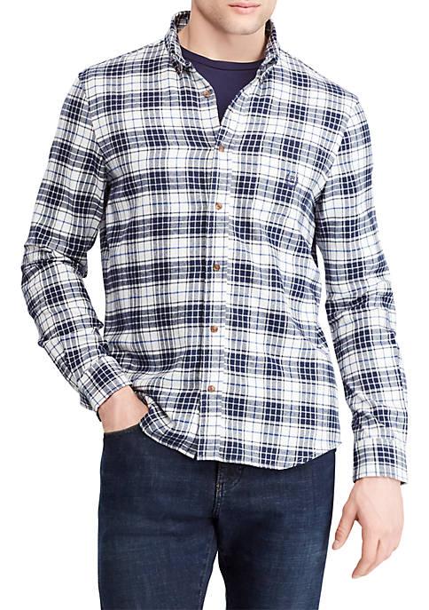 Chaps Plaid Performance Flannel Shirt