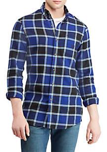 Plaid Performance Flannel Shirt