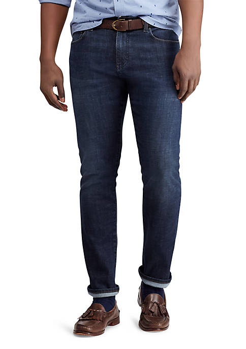 Chaps Stretch Denim Straight Fit Jeans